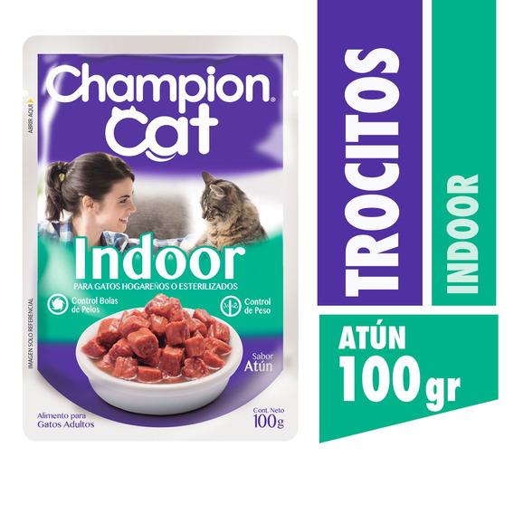 Champion Cat Pouch Indoor 24 X 100 G