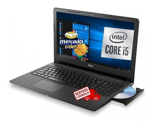Imagen 1 de 2 de Laptop Portatil Dell Core I5 10ma Gen 8gb 1tb Led 15.6 Dvd