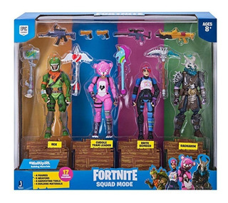 Fortnite Squad Mode 4 Figure Pack En Stock!