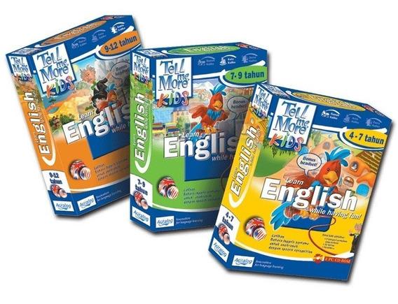 Tell Me More Kids 3 En 1 Dvd Ingles Para Niños Online *tm*