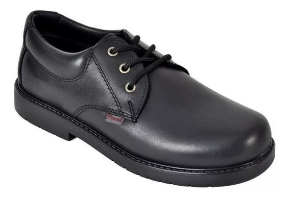 Zapatos Marcel 201 Colegial Escolar Cuero Acordonados Unisex