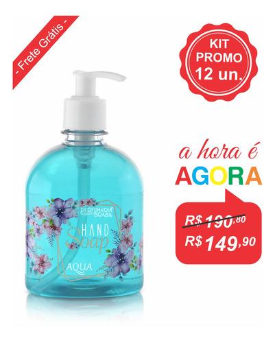 Kit Sabonete Líquido Hand Soap 500 Ml (12un.)
