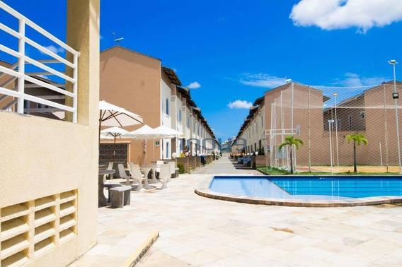 Casa Com 2 Dormitórios À Venda Por R$ 190.000 - Prefeito José Walter - Fortaleza/ce - Ca0498
