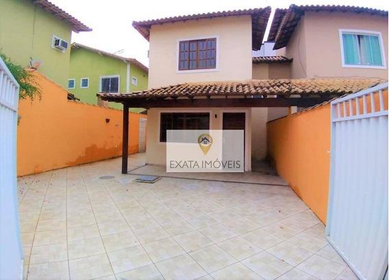 Duplex A 2 Quadras Da Rodovia, Jardim Mariléa, Rio Das Ostras. - Ca0690