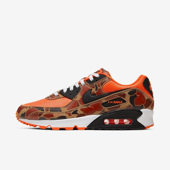 Nike Air Max 90 Orange Duck Camo