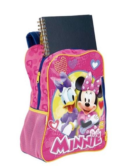 Mochila Infantil Escolar Menina Minnie Disney Sestini