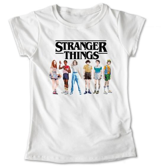 Blusa Stranger Things Camiseta Playera Sombras Once Eleven Dama Niña 643