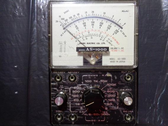 Esquema Elétrico Do Multimetro Hioki As 100d 1972!