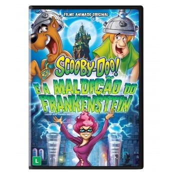 Scooby-doo E A Maldição Do Frankenstein Dvd Original Novo