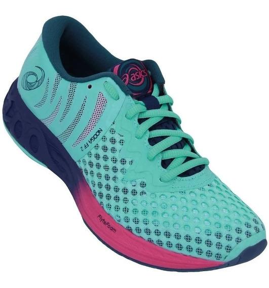 Tênis Feminino Asics Noosa Ff2 - Corrida Running - Verde