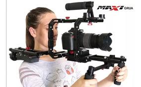 Shoulder Suporte De Ombro Maxigrua Rig Pro Dslr Canon Nikon