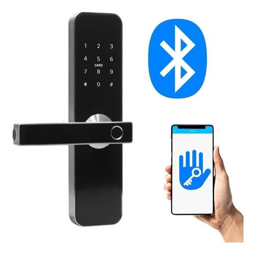 Cerradura Biometrica Smart H31b Bluetooth Huella Control Per