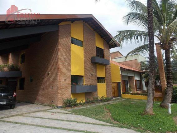 Sobrado Residencial À Venda, Conjunto Residencial Esplanada Do Sol, São José Dos Campos. - So0027