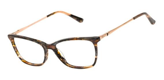 Armação Oculos Ogrife Og 1008-c Feminino Com Lente Sem Grau