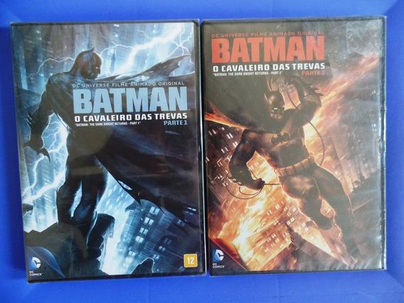 Dvd Batman O Cavaleiro Das Trevas Parte 1 E 2 Original Novo