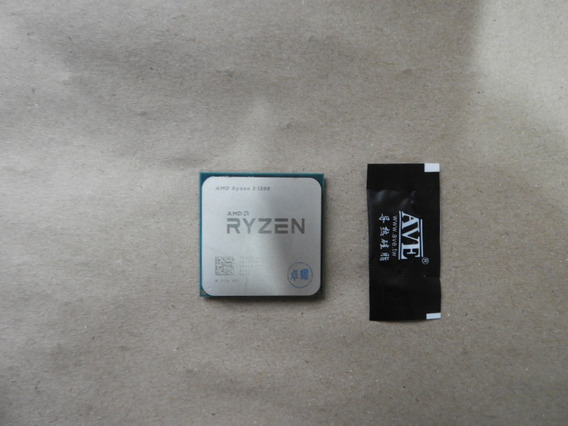 Amd Ryzen 3 1200 - 3,1ghz/3,4ghz - Quad - Am4 = 10mb