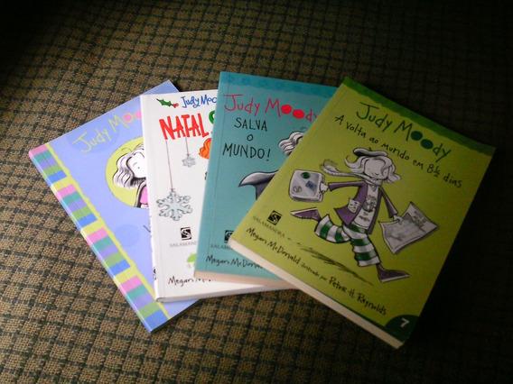 Judy Moody Lote De 4 Livros Megan Mcdonald - Leia O Anuncio