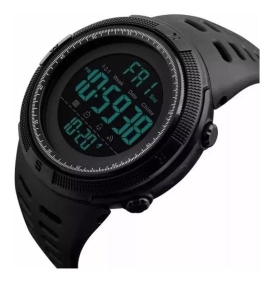Kit Com 5 Relogio Esportivo Digital Prova D Agua Skmei 1251