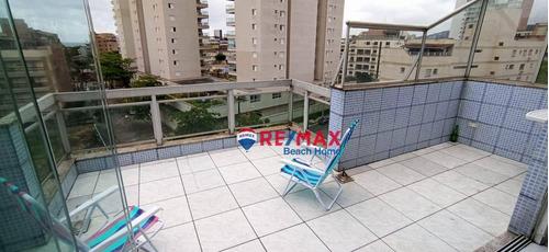 Imagem 1 de 14 de Cobertura Com 3 Dormitórios À Venda, 115 M² Por R$ 350.000,00 - Parque Enseada - Guarujá/sp - Co0286