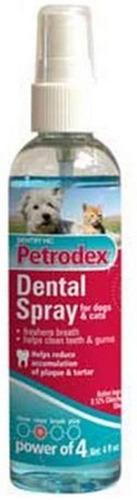 Petrodex Spray Dental Para Perro Y Gato, 4-ounce