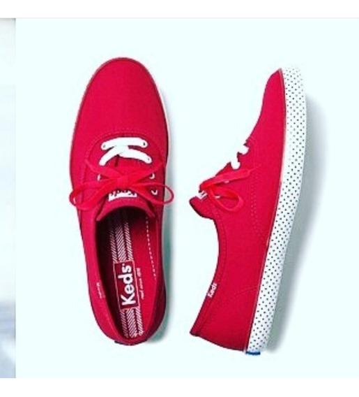 Zapatillas Champions Dot Fo Rojo, Keds