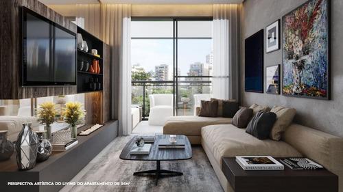 Imagem 1 de 14 de Apartamento Para Venda Em São Paulo, Moema, 2 Dormitórios, 2 Suítes, 3 Banheiros, 1 Vaga - 2d1s1v_mo_1-1412745