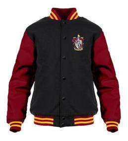 Jaqueta Moletom Harry Potter Blusa College Bordado Costas