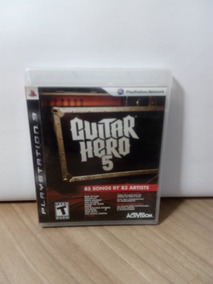 Guitar Hero 5 Ps3 Usado