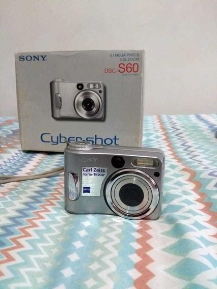 Máquina Fotográfica Sony Digital