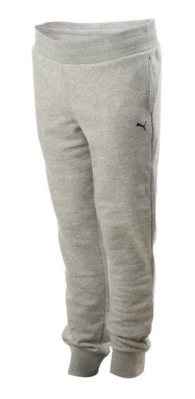 Pantalon Puma Ess Sweat Gris Dama