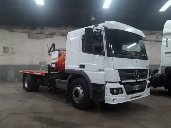 Mercedes Benz Atego 17-25 Con 200mil Km De Fabrica Idrogrua