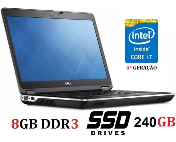 Notebook Dell Intel I7 Com Ssd E Ram Nas Fotos E Descrição.