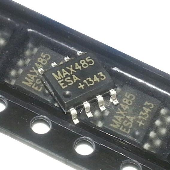 10 Unidades Max485 Smd Sop-8 Conversor Ttl Rs485
