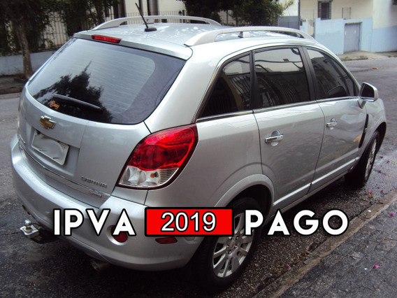 Chevrolet Captiva Sport Awd 3.6 V6 2009 + Kit Multimidia