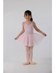 Lote De Faldas Rosas Para Clase De Ballet Niña