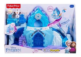 Palacio De Hielo Elsa Frozen Disney Little People Envio Ya