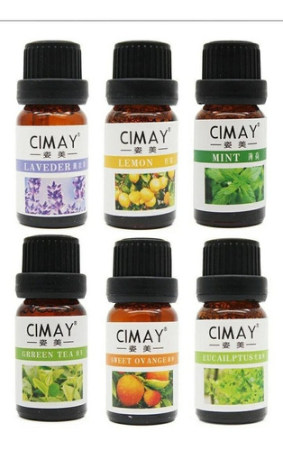 Esencias Aceites Para Humificadores Aromaterapia 10ml