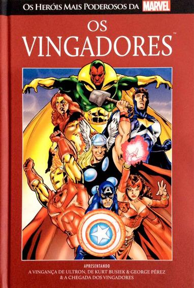 Hq Coleção Salvat Marvel Os Vingadores #1