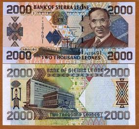 Serra Leoa 2000 Leones 2006 P. 26c Fe Cédula - Tchequito