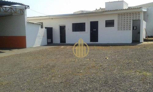 Imagem 1 de 19 de Área Para Alugar, 1100 M² Jardim Palma Travassos - Ribeirão Preto/sp - Ar0024