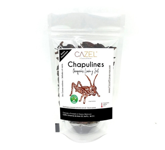 Chapulines Oaxaqueños 1kg Varios Preparados