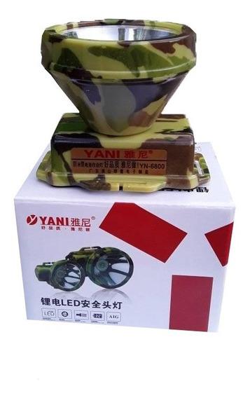 Linterna Lampara Yani 6800 Original Minera Pesca Cazador