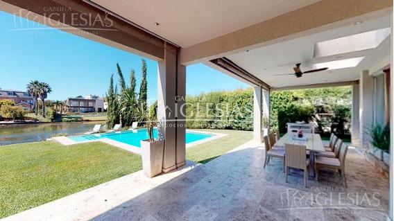 Tour 360º - Espectacular Casa Premium Al Lago En Venta Con 4 Dormitorios En Los Cabos, Nordelta.