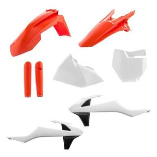 Full Kit Plasticos Acerbis Sxf 250 350 450 16 17 18 Repl Qpg