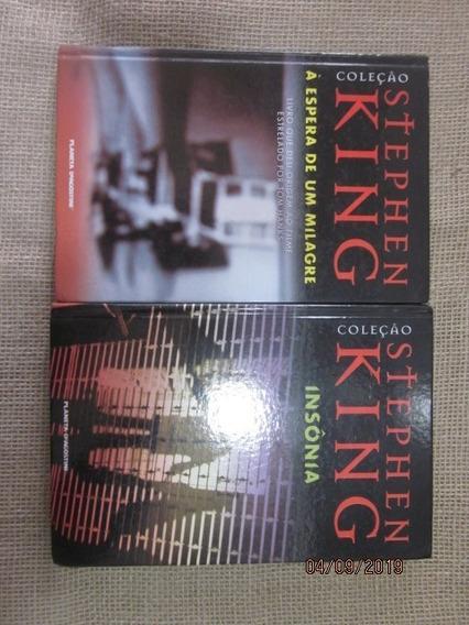 2 Livros Coleção Stephen King # Insônia # Espera De Um ...