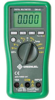 Multímetro Digital - Dm-45 Greenlee