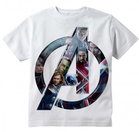 28aaacfd1 Camiseta Infantil Geek Filme Vingadores Avangers