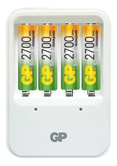 Cargador Gp Con 4 Baterias Recargables 2700mah Wii Camaras