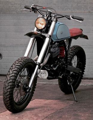 Moto Custom Scrambler Caferacer