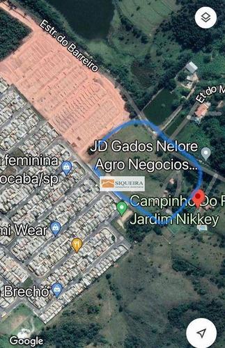 Área À Venda, 67000 M² Por R$ 10.050.000,00 - Jardim Josane - Sorocaba/sp - Ar0004